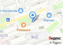 Компания «Продуктовый магазин на проспекте Бумажников» на карте