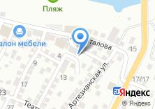 Компания «Каспиец» на карте
