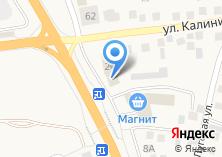 Компания «Дамир» на карте