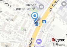 Компания «Мустанг» на карте