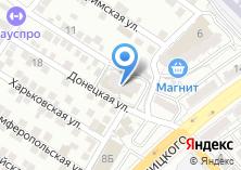 Компания «Такси 24» на карте