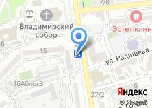 Компания «Генерал» на карте