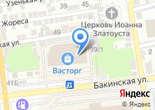 Компания «Вероника» на карте