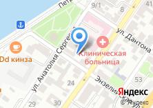 Компания «Торговое единство Астраханская территориальная организация профсоюза работников торговли общественного питания» на карте