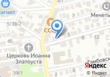 Компания «Доктор мебель» на карте