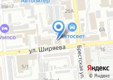 Компания «Адвокат Моисеев А.В.» на карте