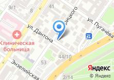 Компания «Адвокатская контора Советского района г. Астрахани» на карте