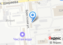 Компания «Столовая №100» на карте