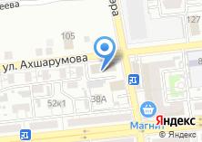 Компания «Астраханьоблгаз» на карте