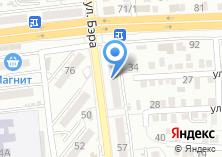 Компания «Мир жалюзи» на карте