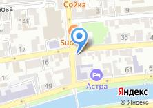 Компания «Астраханская федерация восточного боевого единоборства» на карте