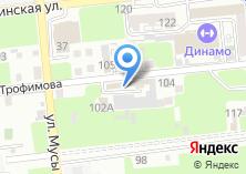 Компания «Строй-Технология» на карте