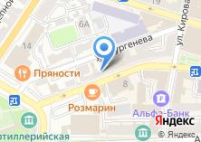 Компания «Шантель» на карте