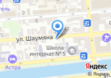 Компания «Продуктовый магазин на ул. Шаумяна» на карте