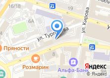 Компания «Кафе Galleria» на карте