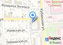 Компания «ТехноНИКОЛЬ Астрахань» на карте