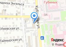 Компания «Гамма мебель» на карте