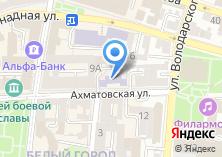 Компания «АГУ» на карте