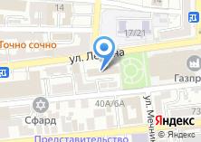 Компания «Каспийский бассейновый информационно-вычислительный центр» на карте