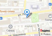 Компания «Астраханское» на карте