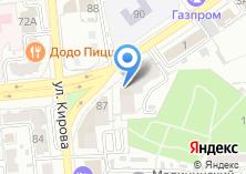 Компания «Service Of The Operational Employment Of The Population Of Astrakhan» на карте