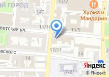 Компания «Департамент лицензирования и контроля Министерства экономического развития Астраханской области» на карте