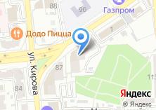 Компания «Астраханское зодчество» на карте