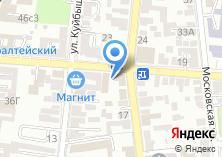 Компания «Астраханский гарнизонный военный суд» на карте