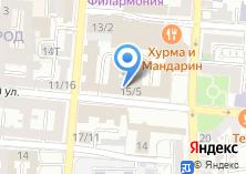 Компания «Служба безопасности и информационной защиты Астраханской области» на карте