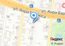 Компания «Единый Визовый Центр» на карте