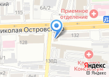 Компания «ХО» на карте