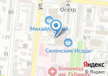Компания «Киоск по продаже газированных напитков и сока» на карте