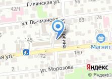 Компания «Золотая Орда» на карте