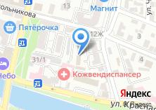 Компания «Управление по капитальному строительству Астраханской области» на карте