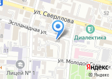 Компания «Отдел трудоустройства молодежи» на карте