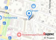 Компания «КБ ВЕБРР» на карте