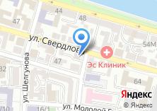 Компания «Бон Аппети» на карте