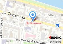 Компания «Каспийская финансовая компания» на карте