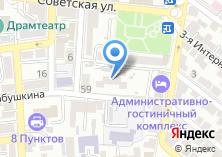 Компания «Общежитие АГУ» на карте