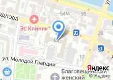 Компания «Управление ФСБ России по Астраханской области» на карте