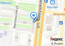 Компания «Интер-Софт» на карте