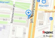 Компания «Браво» на карте