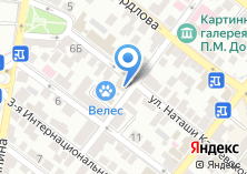 Компания «УК РОДНА» на карте
