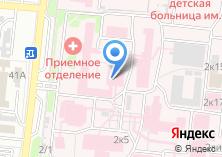 Компания «Александро-Мариинская областная клиническая больница» на карте