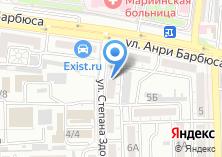 Компания «Антос Тревел» на карте