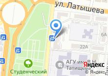 Компания «Резерв» на карте