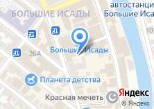 Компания «Даниловский» на карте