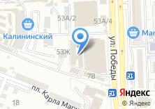 Компания «Магазин тканей и пряжи» на карте