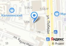 Компания «Салон-ателье штор» на карте