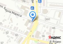 Компания «ЮВЕСТА» на карте